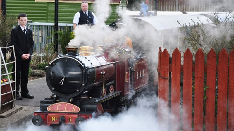 Photo: Cleethorpes Coast Light Railway