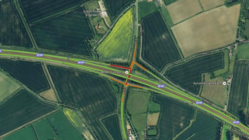 M180. Photo: Google Maps