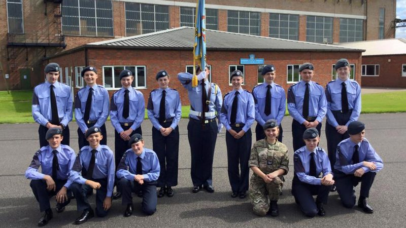 Photo: Stamford Air Cadets