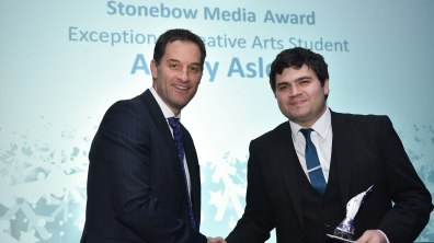 Winner of Exceptional Creative Arts Student, Ashley Aslett. Photo: Steve Smailes for Lincolnshire Reporter