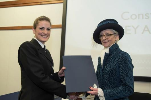 PC Hayley Abraham. Photo: Steve Smailes for Lincolnshire Reporter