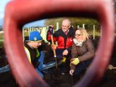 Green-fingered volunteers plant hundreds of trees across West Lindsey
