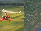 Man injured in microlight aircraft crash landing in Lincolnshire woodland