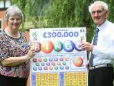 Horncastle grandma wins £300k on scratch card