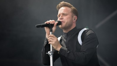 Olly Murs at Market Rasen Racecourse. Photo: Sean Strange for Lincolnshire Reporter