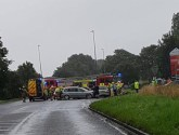 Emergency services called to crash on main road in Skegness