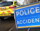 Two injuries in three-vehicle crash on A16