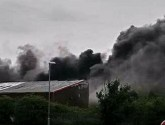 Police treating fire at former sweet factory as arson