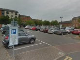 Work begins to create new spaces at Gainsborough car park