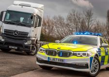 Lorry 'supercab' deployed to catch dangerous drivers
