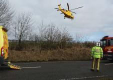 Young man suffers life-changing injuries in crash with lorry on A46