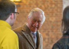 In pictures: Prince Charles visits Tattershall Castle