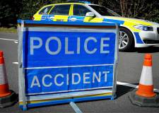 Two hospitalised after serious A17 pile-up