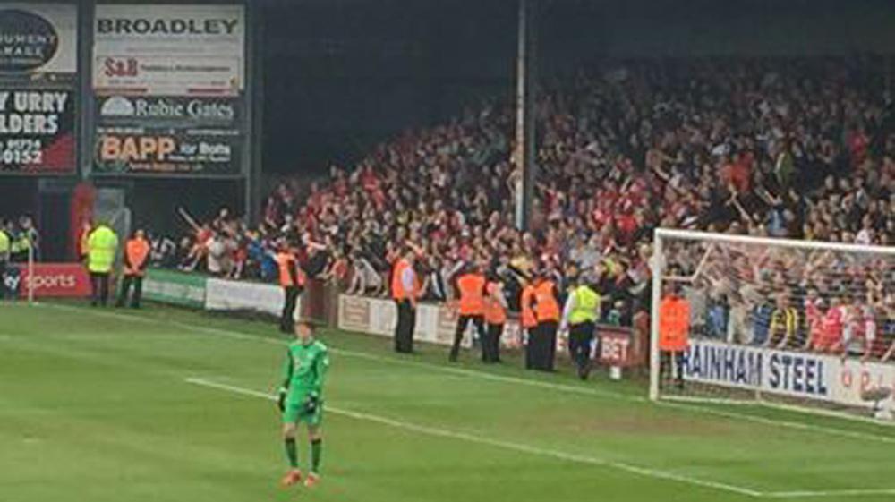 FT: Scunthorpe United 2 Rotherham United 2