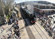 Flying Scotsman steaming into Lincolnshire this weekend