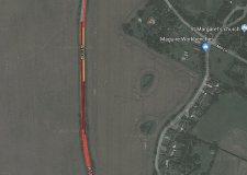 Lincolnshire A1104 crash causes delays