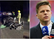 BT Sport's Jake Humphrey praises Lincs rescue crews after horror crash