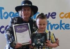 Mum's shock at son's stroke diagnosis before birth