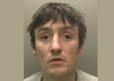 Burglar who escaped crime scene down pipe jailed