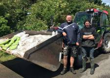 Local flood heroes deliver thousands of sandbags
