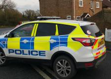 Road blocked after A157 crash in Lincolnshire village