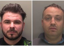 Criminal duo jailed for stealing 30 vans in eight months