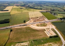 Week-long A1 northbound closure near Grantham