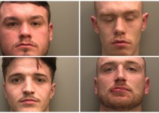"Grantham gang jailed for ""disgraceful"" street violence"