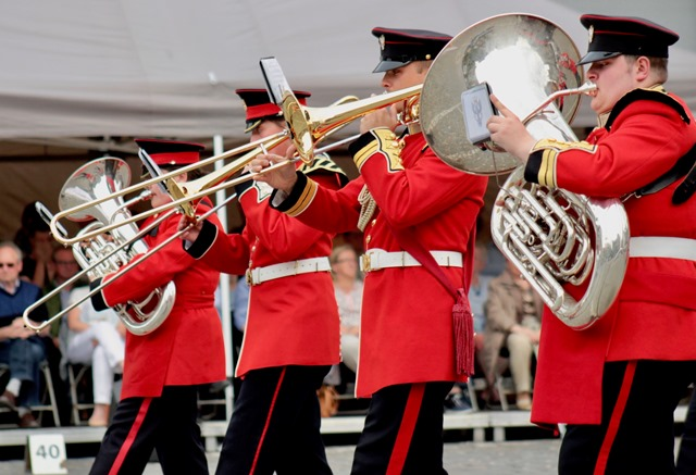 Lincs cadets impress in Belgium after talent spotted on YouTube