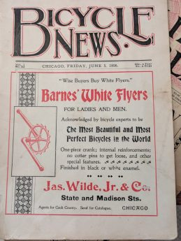 1896 Bicycle News