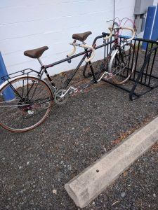 As Found - Full Fenders and Custom Racks