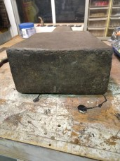 Stump Anvil Face - Sawyers Type