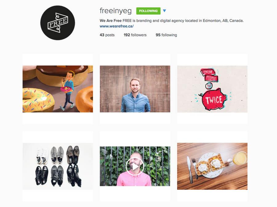 Edmonton Instagram Users - freeinyeg