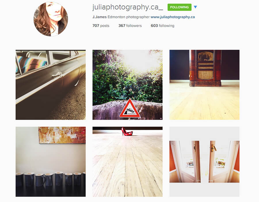 Edmonton Instagram Users - juliaphotography_