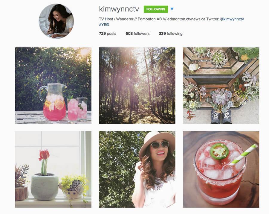 Edmonton Instagram Users - kimwynnctv