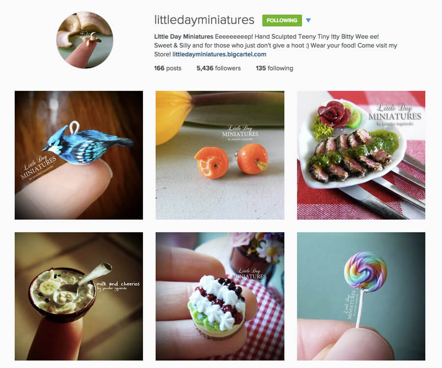 Edmonton Instagram Users - littledayminiatures