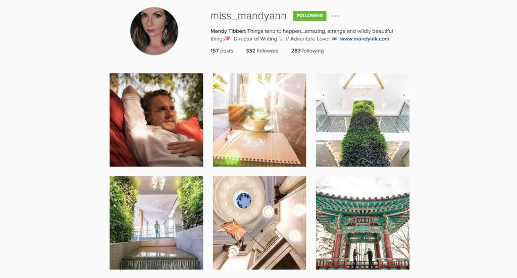Top Edmonton Instagram Users - miss_mandyann - Social Media