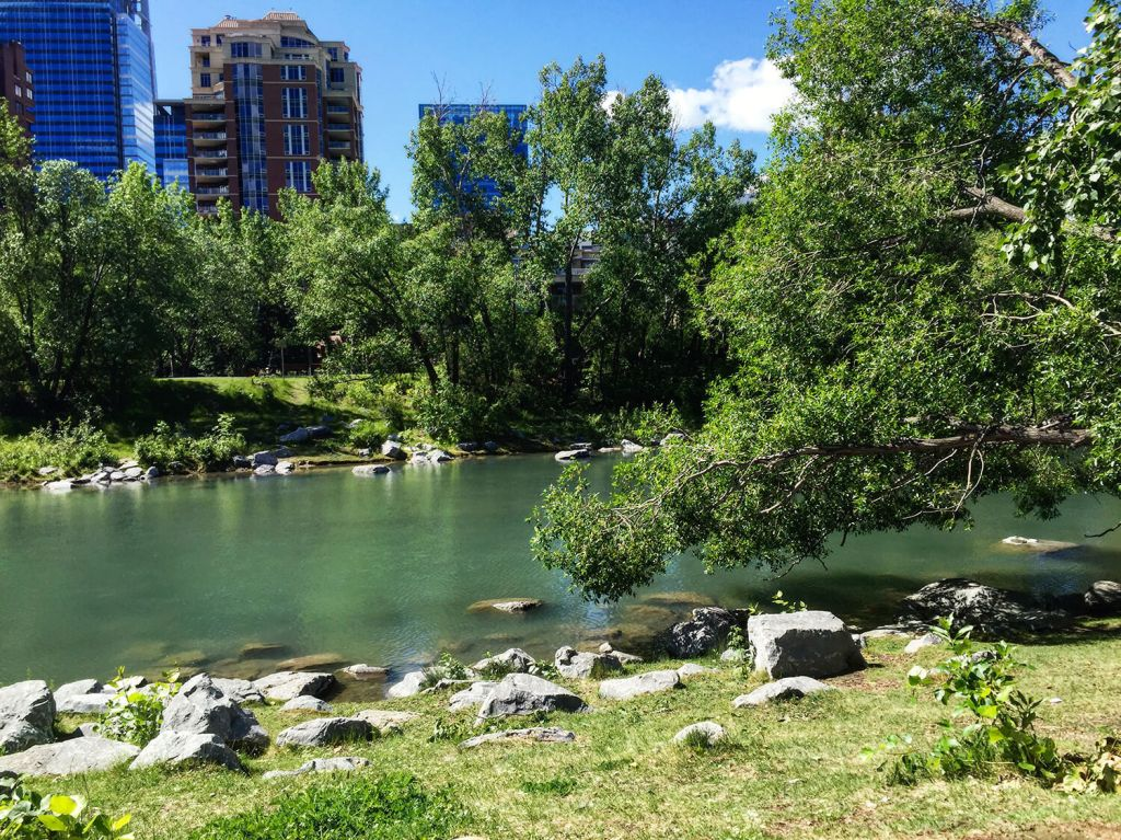 Calgary - Prince's Island Park - Best Weekend Ever 48 Hours Tourism
