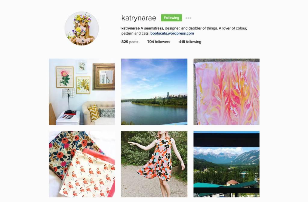 Edmonton Instagram Users - katrynarae - Social Media