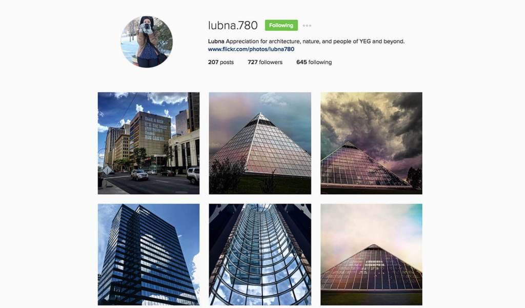 Edmonton Instagram Users - lubna.780 - Social Media