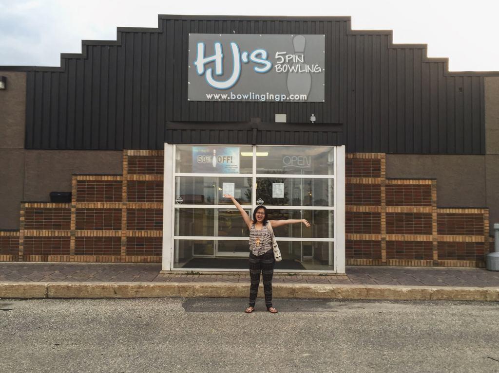 HJ's 5-pin Bowling - Grande Prairie - Explore Alberta - Highway 43 - Travel