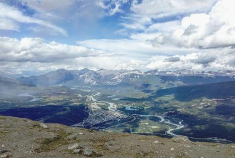 Travel Jasper - Explore Alberta - Canadian Rockies - Jasper SkyTram Mount Whistler's