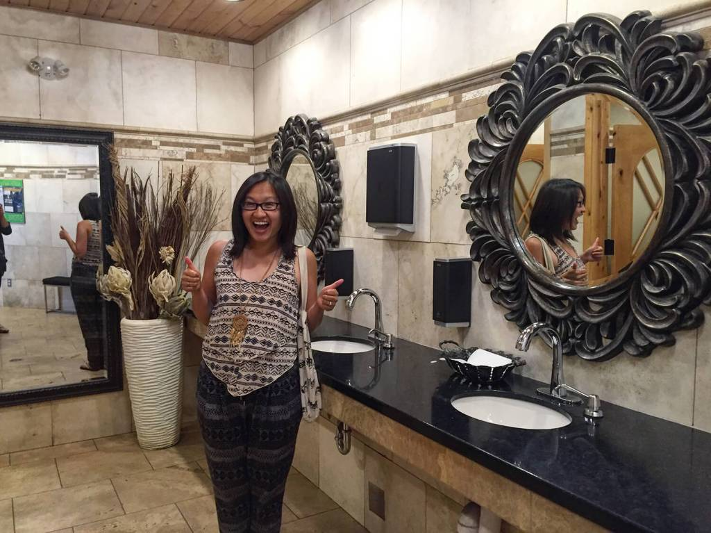 Valleyview Best Restroom - Explore Alberta - Highway 43 - Travel