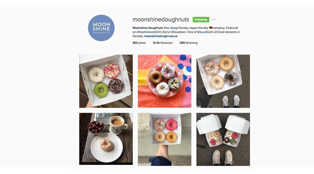 Instagram Edmonton - moonshinedonuts