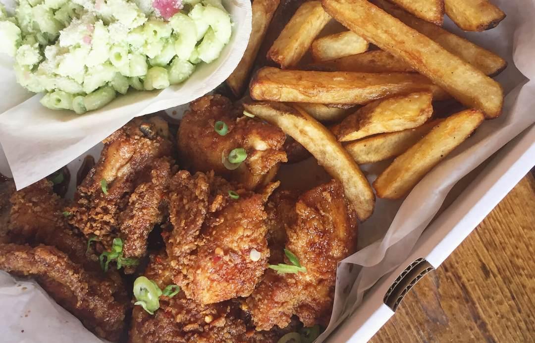 SFC Seoul Fried Chicken Edmonton Old Strathcona
