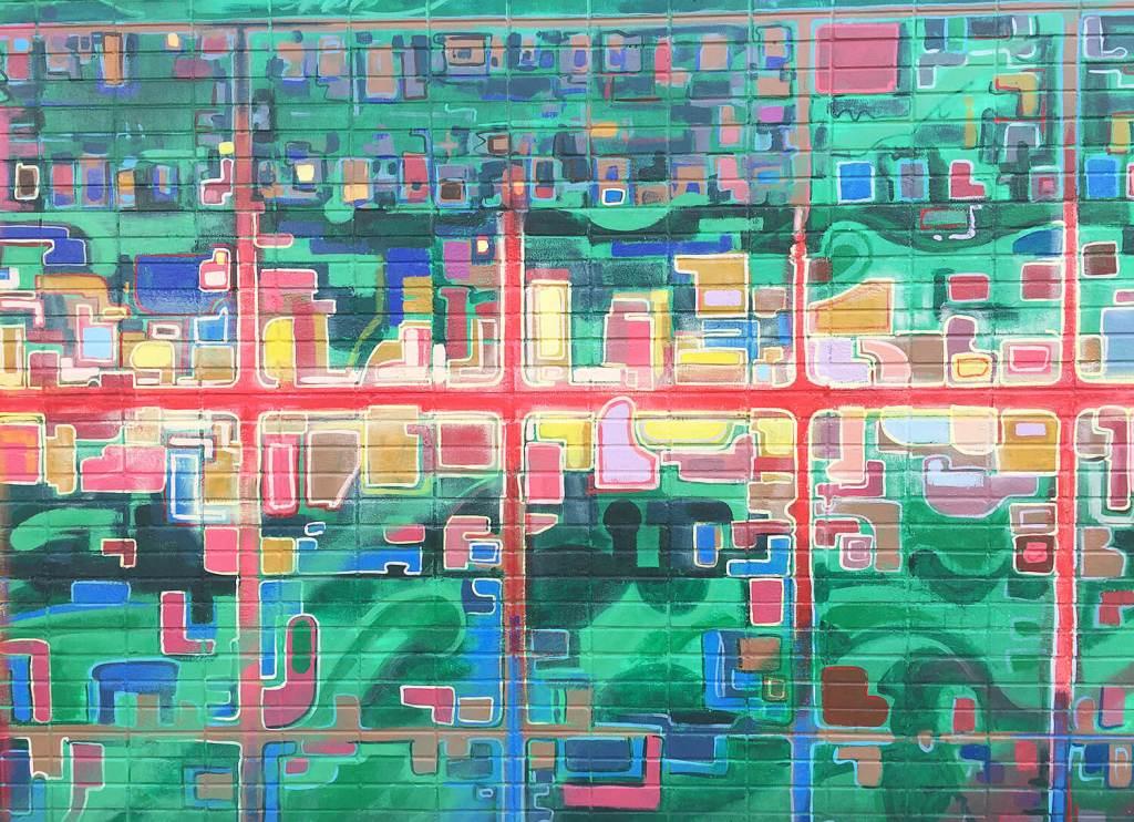 Instagrammable Walls of Edmonton - 124 Street Mural