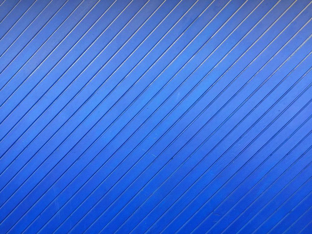 Instagrammable Walls of Edmonton - Blue Wall