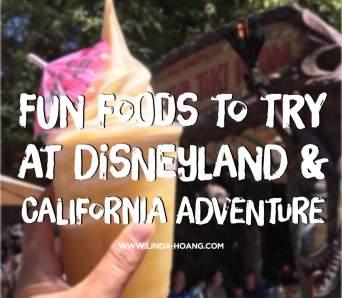 Fun Food Disneyland California Adventure