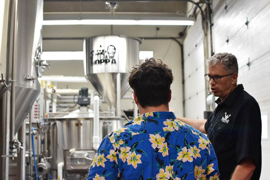 Troubled Monk Brewery Red Deer Craft Beer Tour