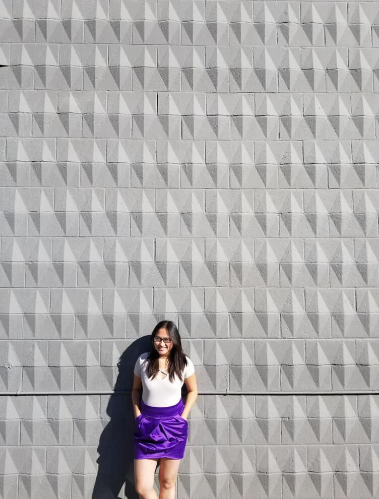 Instagrammable Walls of Calgary - Grey White Texture Wall
